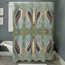 "New CafePress Stork Stream Fabric Shower Curtain 69""x70"" Nouveau Marabou Storks"