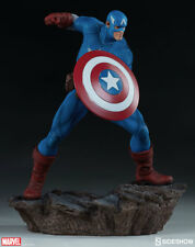 "SIDESHOW MARVEL Avengers Assemble Captain America 15"" statue"