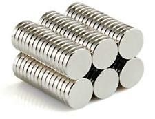 100 Rare Earth Neodymium Disc Craft Magnets 1/4 Inch Super Strong Magnetic 6mm