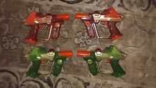 Lot of  4 tiger lazer tag guns: Tested and Working