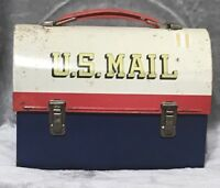 Vintange US Mail Lunch Tin by Aladdin