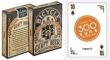 Bicycle Craft Beer Playing Cards 1 Deck Celebrating 53 Brewmasters New Sealed