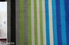 SCHMUTZFANGMATTE waschbar Dekowe Prestige Streifen Blau 64x97 Sauberlaufmatte