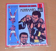 MUHAMMAD ALI Cassius Clay BOXER METAL FIGURE COLLECTIBLE TOY ARGENTINA # 1