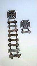 World War Ii Us Military Marksmen Medals Sterling Silver