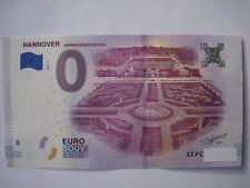 0 Euro Souvenir, Hannover Herrenhäuser Gärten 2018-2, XEPC, billet touristique