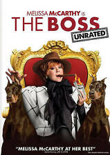 The Boss DVD Unrated Version Melissa McCarthy AUTHENTIC  BRAND NEW Retail