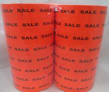 16,000 Monarch Compatible Sale Red Labels for Monarch 1155 1156 1170 Price Guns