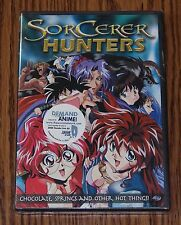 Sorcerer Hunters: Chocolate, Springs, and Other Hot Things (DVD, 2003) Brand New