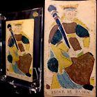 c1775 Queen Woodblock Minor Arcana Antique Tarot Playing Cards Historic Single