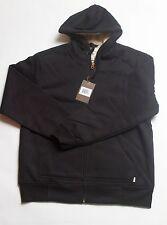 NWT Mens WEATHERPROOF BLACK Sherpa L/S Jacket Coat Size L, LARGE