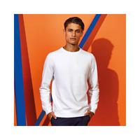 Asquith & Fox Mens Organic Crew Neck Sweatshirt Jumper