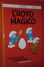 I PUFFI -N°5- l'uovo magico -CARTONATO . PLANETA DE AGOSTINI- nuovo