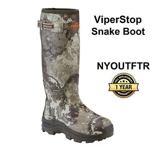 Dryshod ViperStop Snake Hunting Boot VEIL Camo With Gusset Size 13  VPS-MH-CM