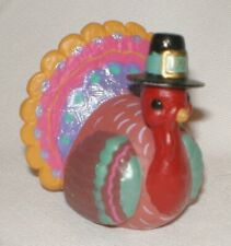 Hallmark Merry Miniature 1992 Thanksgiving Thankful Turkey #3 Series