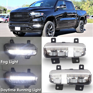 2019-2020 RAM 1500 2500 3500 LED FOG LIGHT LAMP OEM NEW MOPAR 68273291AB