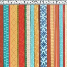Colourful STRIPE Fabric - FQ