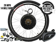 26 Inch 48v 1000w Rear Wheel Ebike Kit Bicycle Electric Bicycle Conversion Kit