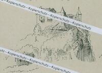 Oberaudorf - Schloss Auerburg - Nach einer alten Darstellung - um 1920