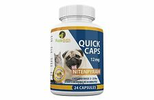 24ct. Quick Caps flea control 12mg Cats and Dogs 2-25 lbs Compare to CapGuard®
