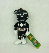 Mighty Morphin Power Rangers Bag Clip Anhänger Plüsch 18cm Schwarz black