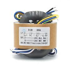 30VA(0V-115V-230V ) R-type transformer/power transformer Dual 24V 30W
