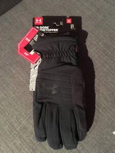 NWT Under Armour Storm1 NO BREAK Gore Windstopper Gloves Mens Medium XL