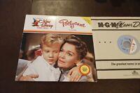 Pollyanna Laserdisc 2 LD Walt Disney NM- 128 min EX picture quality 1960 Haley