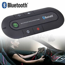 Wireless Bluetooth Handsfree Car Kit Speakerphone Speaker