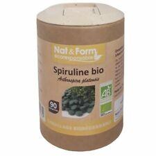 Nat et Form Spiruline Bio 90 comprimés