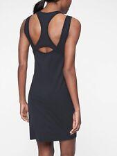 Athleta Rafina Dress Black Size Tall L item #291731 J