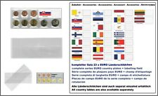 1000 Look 1-K7ES-SLK coin pockets EURO-course-coins-sets + Slovakia Flags