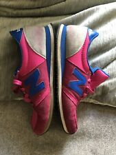 New Balance 420 Trainers UK 7 .5  Grey / Pink / Blue Retro / Casual Runners