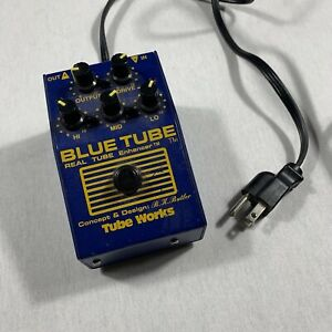 Blue Tube Preamp Pedal Tube works B.K. Butler. Not Tested.