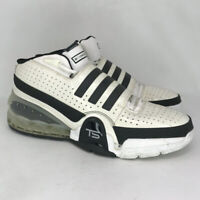 Adidas Mens TS Bounce Commander G05532 Black White Basketball Shoes Size 15