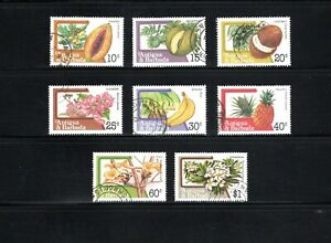 Antigua & Barbuda -- 8 diff used from 1983 -- perf 14