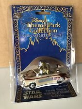 NEW NIB STAR WARS Disney Theme Park Collection Parade Vehicle R2-D2 And C-3PO!