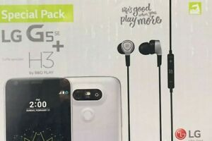 LG G5 SE 32GB (UNLOCKED) BRAND NEW SEALED SPECIAL PACK with H3 HEADPHONES