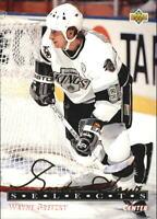 1992-93 Upper Deck Gordie Howe Selects #G5 Wayne Gretzky - NM-MT