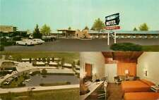 Roadside Postcard Air Park Motel, Mexico, Missouri - circa 1960s