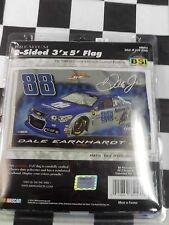 Dale Earnhard Jr #88 Nationwide 2 sided Flag 3'x5' NASCAR Large Flag NEW