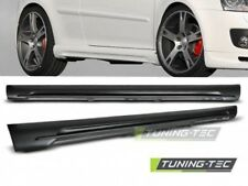 Coppia Minigonne Sportive Laterali Tuning GOLF 5 GTI STYLE look in ABS vernic