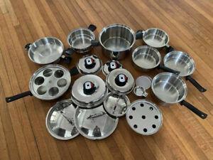 17 piece Cordon Bleu Cookware Set