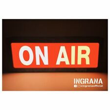 "Insegna luminosa ""ON AIR"", light sign, luce on air, ecc.."