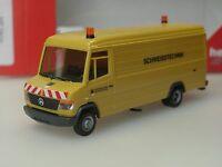 """Herpa Mercedes Vario Kasten """"Leonhard Weiss Schweisstechnik"""" - 093125 - 1:87"""