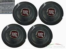 Orig. Fiat Bravo Felgendeckel Radkappe schwarz anthrazit 4er Set Logo 735452756