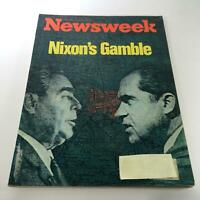 Newsweek Magazine: May 22 1972 - Richard Nixon's Gamble