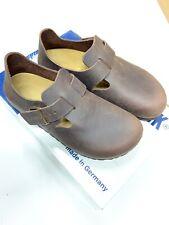 Birkenstock London scarpa pelle habana unisex 0666623