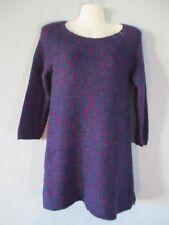 Wool Ann Taylor Women's Size Small Long Sleeve Purple Sweater