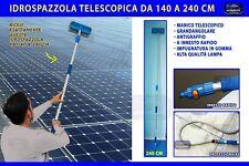 Kit pulizia pannelli fotovoltaici solari idrospazzola spazzolone spazzola Jet